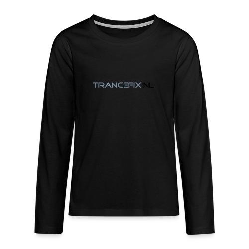 trancefix text - Teenagers' Premium Longsleeve Shirt