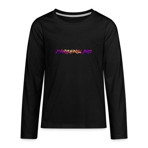 Farbenblind - Teenager Premium Langarmshirt