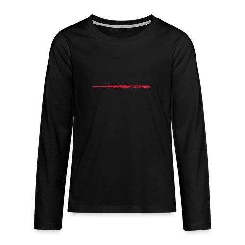 Linie_01 - Teenager Premium Langarmshirt