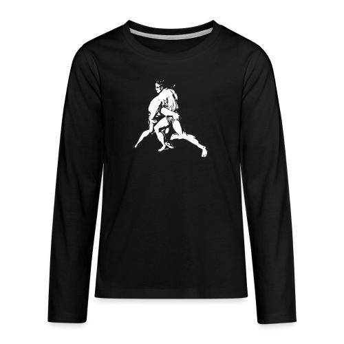 Schwinger - Teenager Premium Langarmshirt