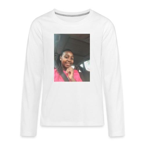 tee shirt personnalser par moi LeaFashonIndustri - T-shirt manches longues Premium Ado