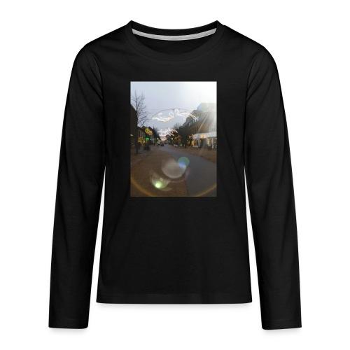 20180112 025558 - Teenager premium T-shirt med lange ærmer