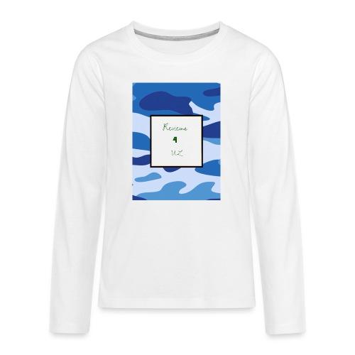 My channel - Teenagers' Premium Longsleeve Shirt