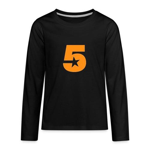No5 - Teenagers' Premium Longsleeve Shirt