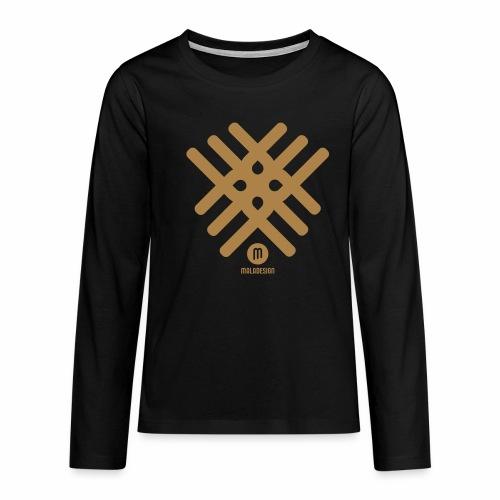 Maladesign - Teinien premium pitkähihainen t-paita