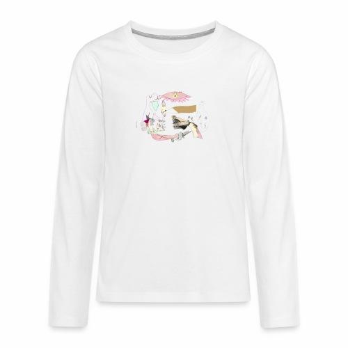 Pintular - Camiseta de manga larga premium adolescente