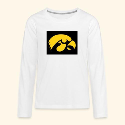YellowHawk shirt - Teenager Premium shirt met lange mouwen