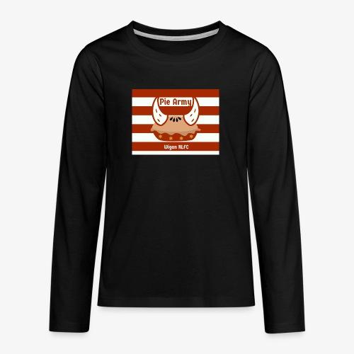 Pie Army - Teenagers' Premium Longsleeve Shirt