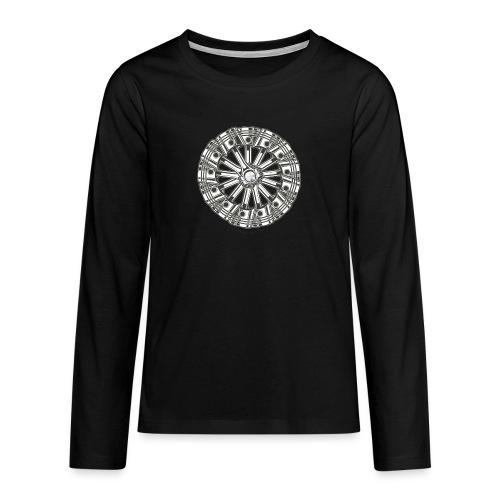 zuiger rol - Teenager Premium shirt met lange mouwen