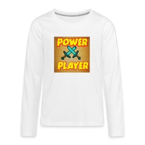 NUOVA LINEA POWER PLAYER - Maglietta Premium a manica lunga per teenager