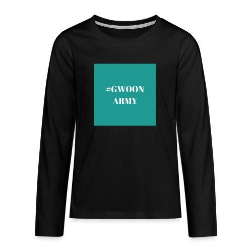 #gwoonarmy - Teenager Premium shirt met lange mouwen