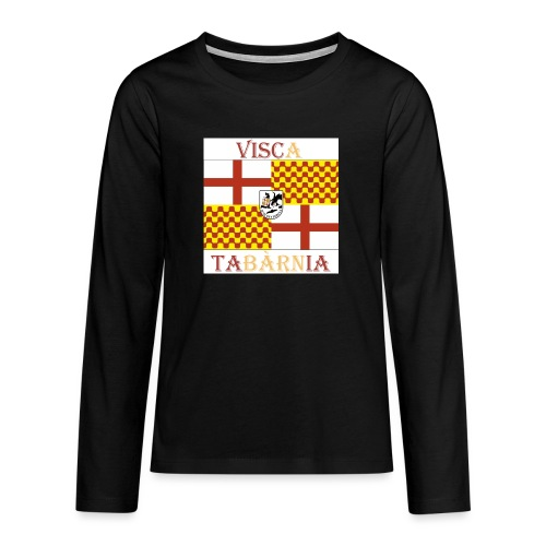 Bandera Visc a Tabarnia - Camiseta de manga larga premium adolescente