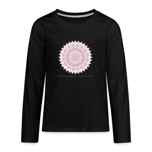 Mandala - Teenagers' Premium Longsleeve Shirt