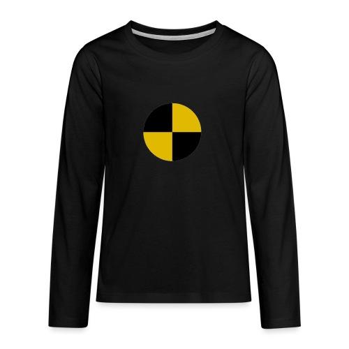 crash test - Teenagers' Premium Longsleeve Shirt