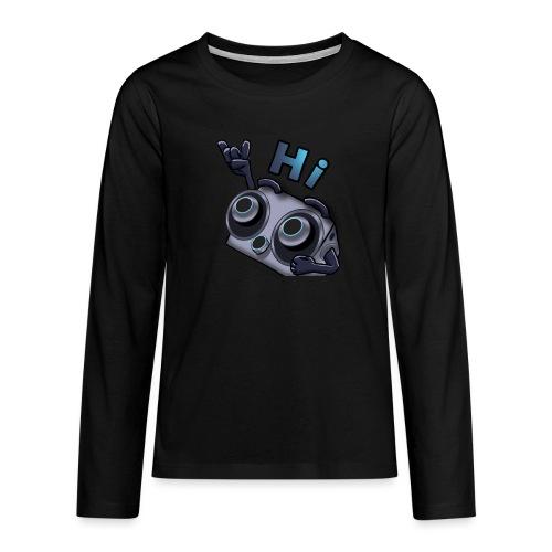 The DTS51 emote1 - Teenager Premium shirt met lange mouwen