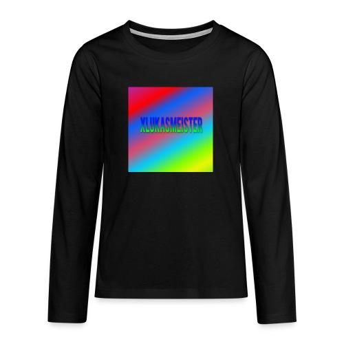 xxkyllingxx minecraft navn - Teenager premium T-shirt med lange ærmer