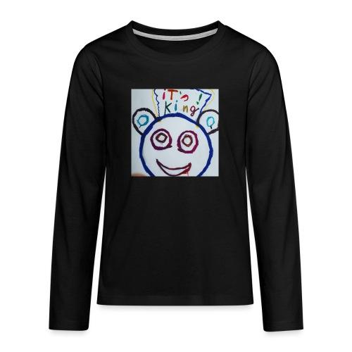 de panda beer - Teenager Premium shirt met lange mouwen