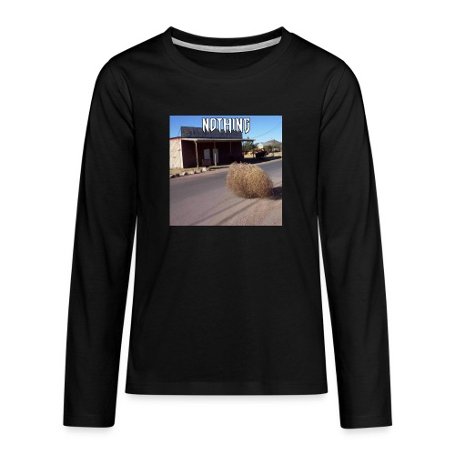 NOTHING - T-shirt manches longues Premium Ado