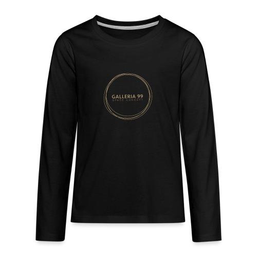 GALLERIA99 - Maglietta Premium a manica lunga per teenager