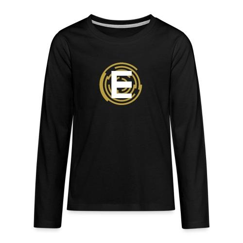 E-Campionato Semplice - Maglietta Premium a manica lunga per teenager