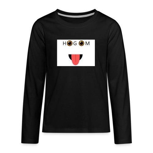 HetGameMisterie Logo - Teenager Premium shirt met lange mouwen