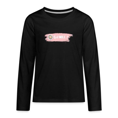 Got MILF Milfcafe Shirt Mama Muttertag - Teenager Premium Langarmshirt