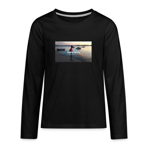 AustriaGAming - Teenager Premium Langarmshirt