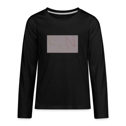 SASNINJA's merch - Teenagers' Premium Longsleeve Shirt