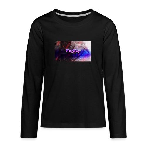 TinSpy YT - Långärmad premium T-shirt tonåring
