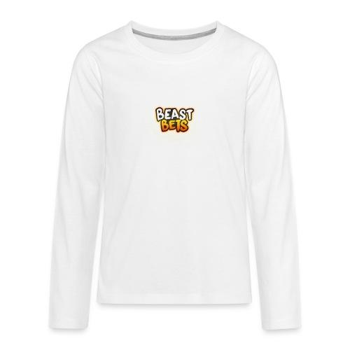BeastBets - Teenager premium T-shirt med lange ærmer