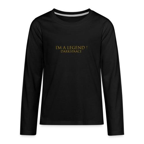 Habits & Accésoire - DarkSpaace I'm A LEGEND - T-shirt manches longues Premium Ado