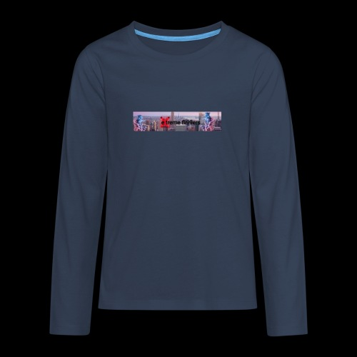 eXtreme fli99ers tryck på en tröja. - Långärmad premium T-shirt tonåring