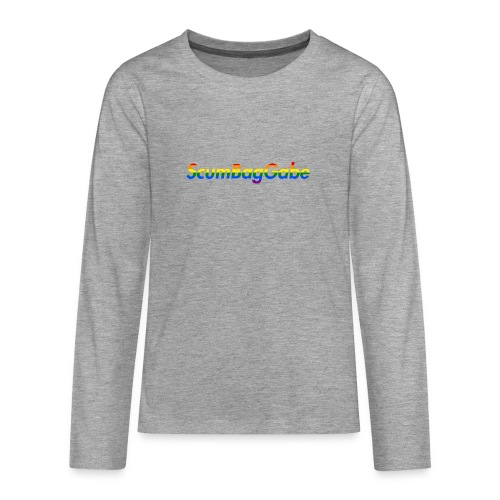 ScumBagGabe Multi Logo XL - Teenagers' Premium Longsleeve Shirt