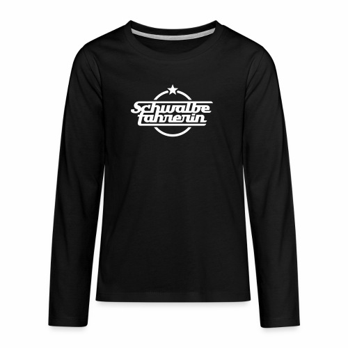 Schwalbefahrerin - Teenagers' Premium Longsleeve Shirt