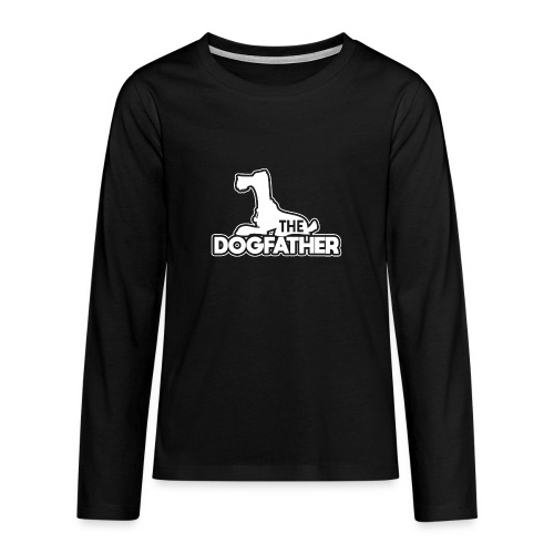 The DOGFATHER - Teenager Premium Langarmshirt