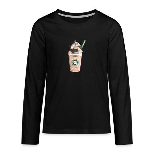 Catpuccino bright - Teenagers' Premium Longsleeve Shirt