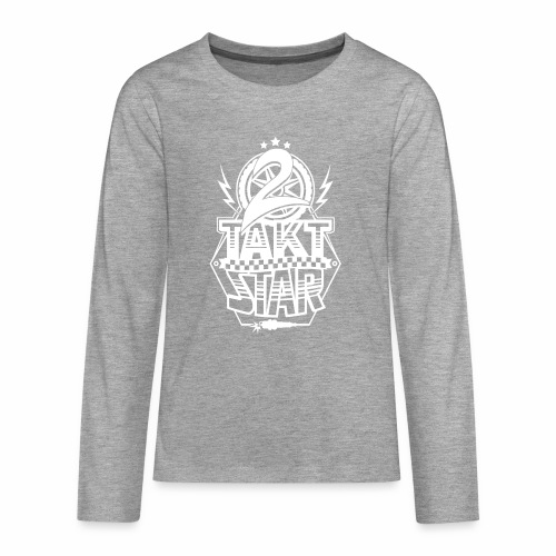 2-Takt-Star / Zweitakt-Star - Teenagers' Premium Longsleeve Shirt