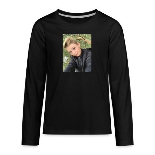 T-shirt - Långärmad premium T-shirt tonåring