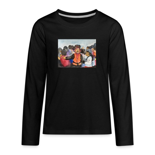 Lezvos22 - Långärmad premium T-shirt tonåring