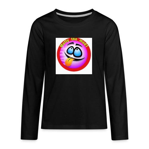 5D14BC46 196E 4AF6 ACB3 CE0B980EF8D6 - Teenagers' Premium Longsleeve Shirt