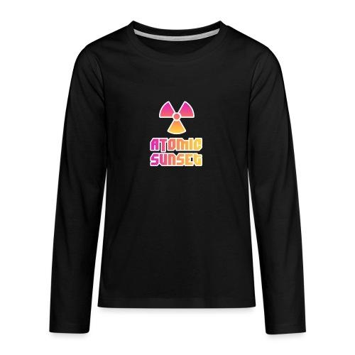 ATOMIC SUNSET - T-shirt manches longues Premium Ado