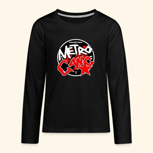 METRO GANG LIFESTYLE - Teenagers' Premium Longsleeve Shirt