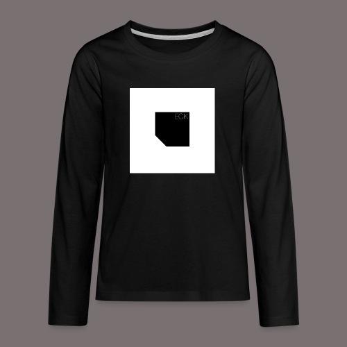 ecke - Teenager Premium Langarmshirt