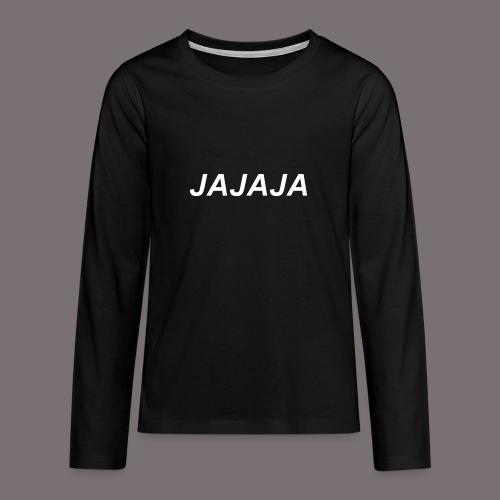 Ja - Teenager Premium Langarmshirt