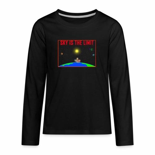 Sky is the limit - Teenagers' Premium Longsleeve Shirt