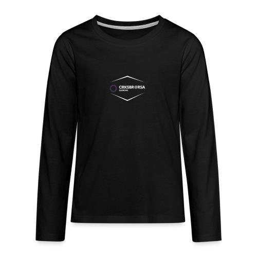 crksbrorsa - Långärmad premium T-shirt tonåring