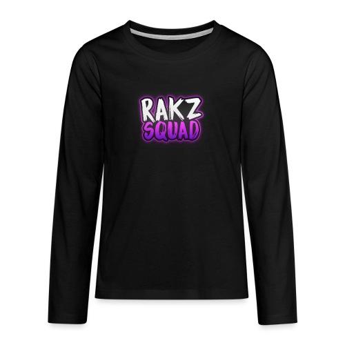 RakzSquad First Merch - Teenagers' Premium Longsleeve Shirt