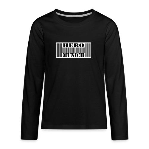 LOGO e1376860460779 jpg - Teenager Premium Langarmshirt