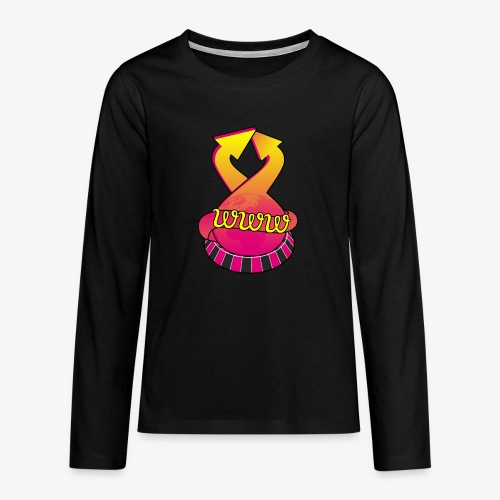 UrlRoulette logo - Teenagers' Premium Longsleeve Shirt