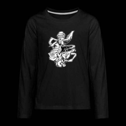 The Real HipHop Elements - Teenager Premium Langarmshirt